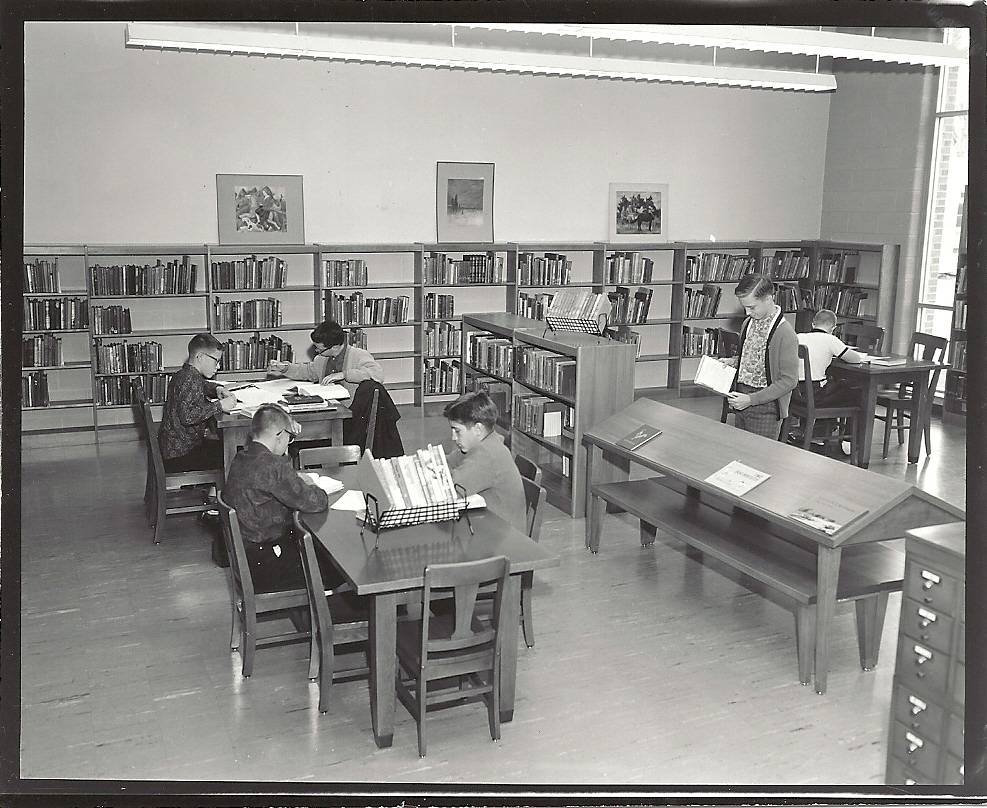 old library photo