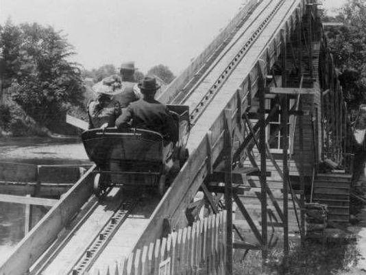 old grand ledge roller coaster