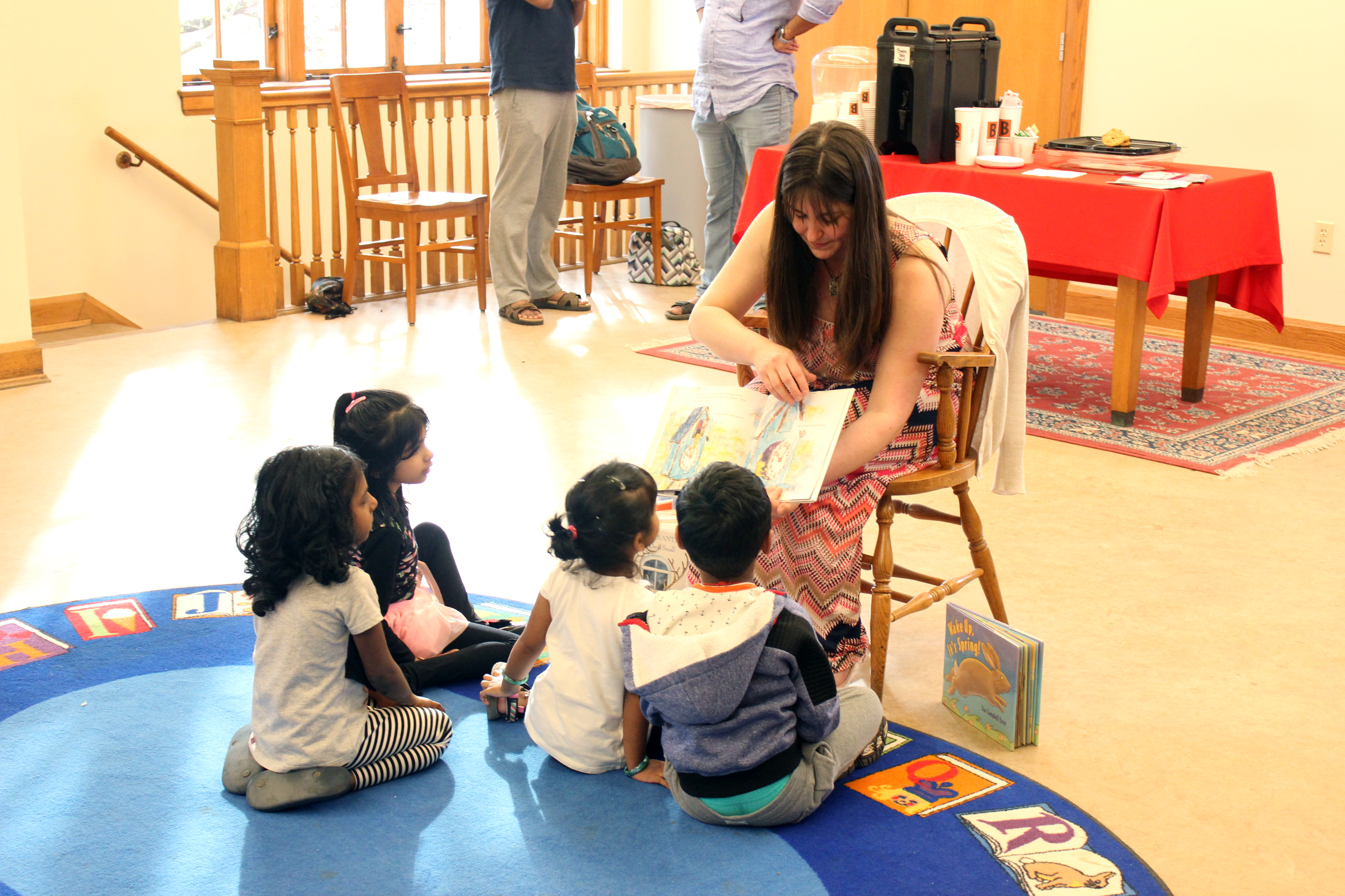 ms. danielle reading stories to kids