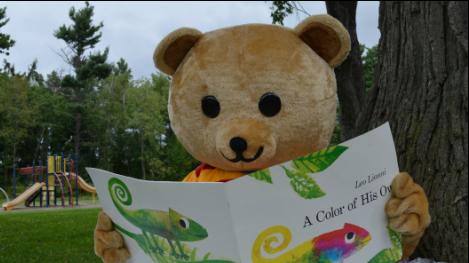 1000 books before kindergarten bear
