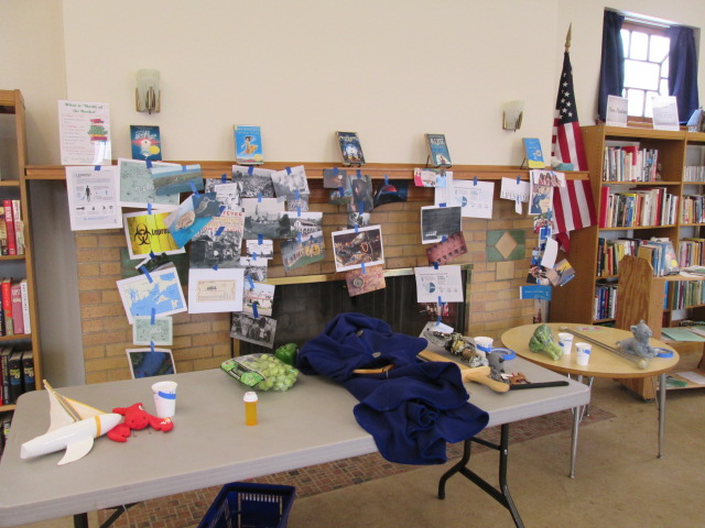 Battle of the Books display