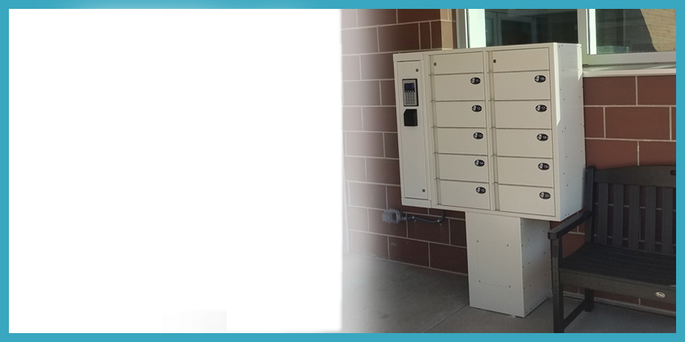 Outdoor Locker Service Now Available!