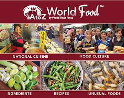 access recipes and learn about food from around the world