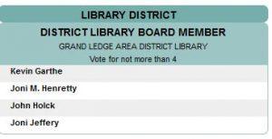 GLADL trustee ballot information