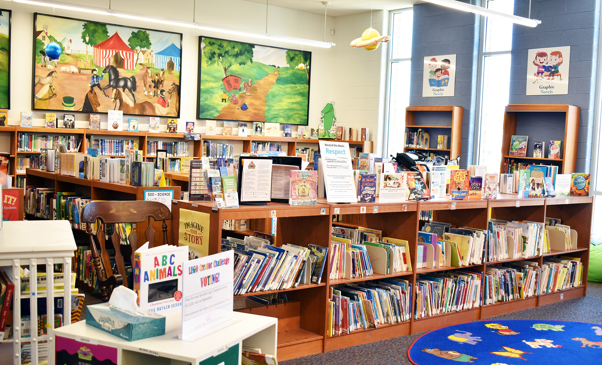 photo of children's section