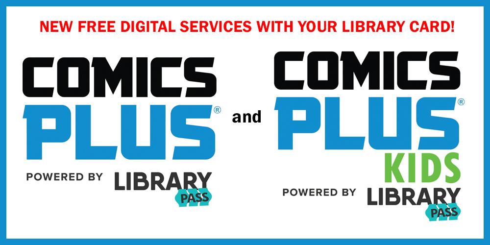 Comics Plus logos