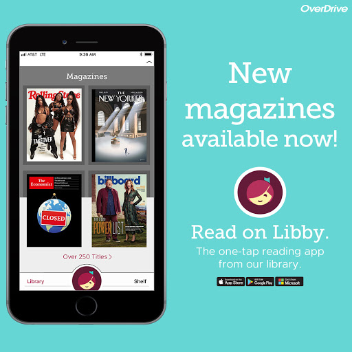 online magazines from libby