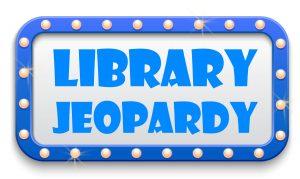Library Jeopardy logo