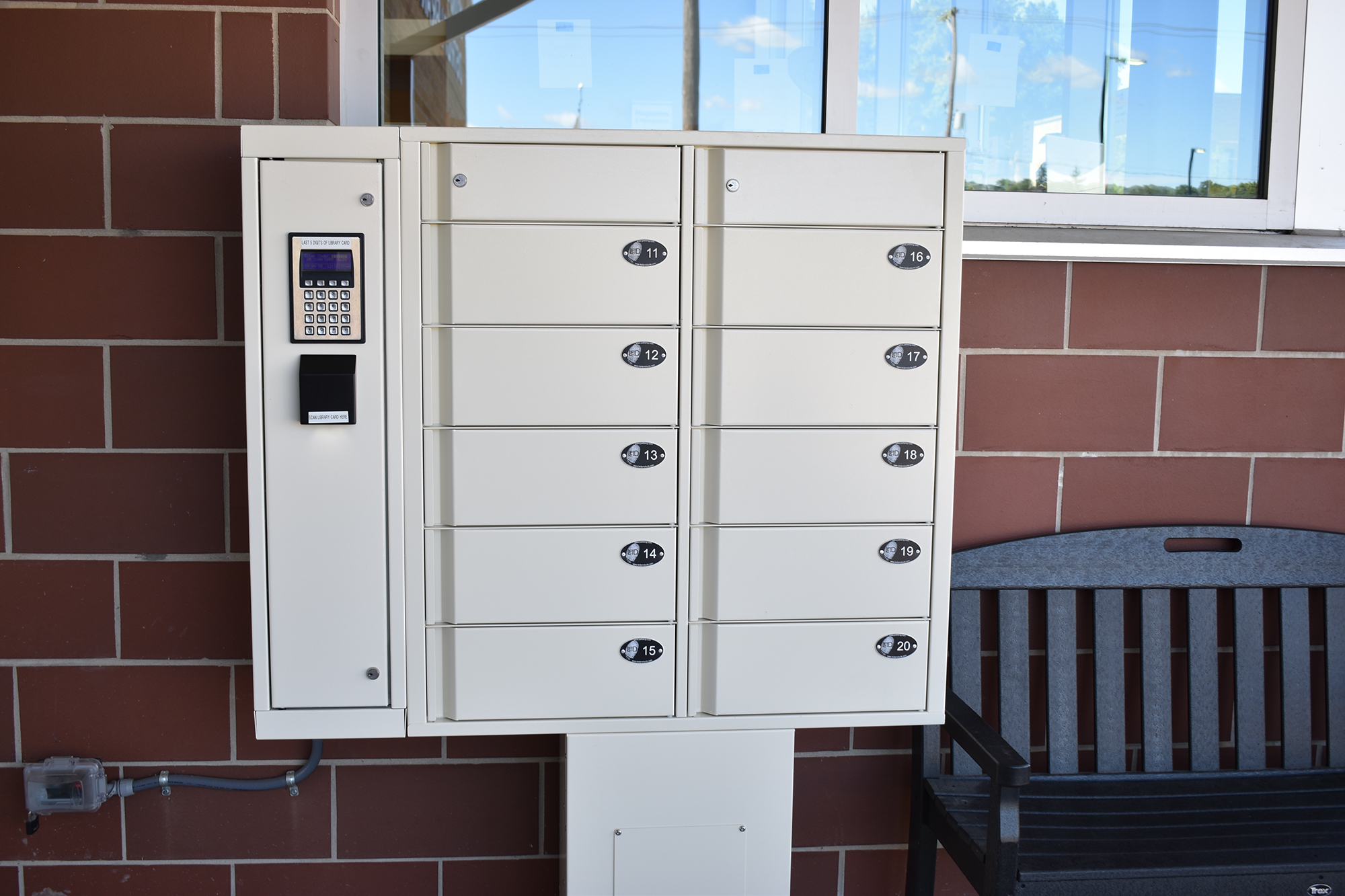 outdoor lockers available