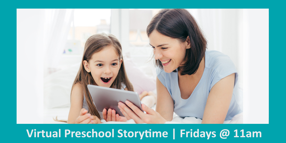 Virtual Preschool Family Storytime